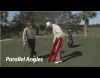 DJ Illustrates putting stance